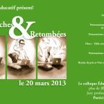 """quatrième affiche """"Recherche et Retombées"""""""