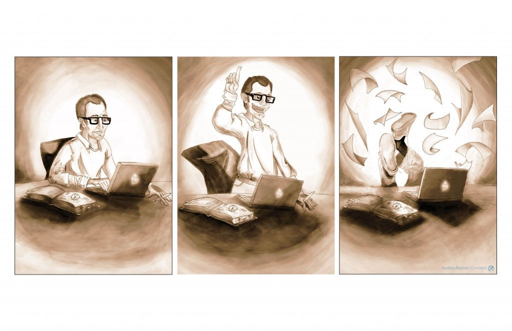 """Illustration """"Recherche et Retombées"""""""